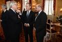 V popředí: Jean-Claude Juncker, Donald Tusk a Martin Schulz.