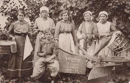 Ženy v době první světové války.