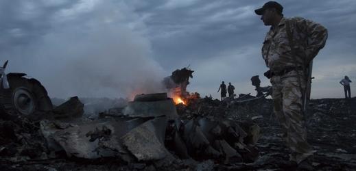 Separatisté u trosek letu MH17.