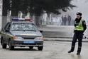 Ukrajinský policista (ilustrační foto).