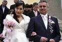 Vratislav Mynář se oženil s moderátorkou Alexandrou Noskovou.