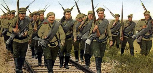 Ruská armáda za 1. světové války