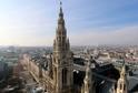 Gotická Katedrála svatého Štěpána (Stephansdom) ve Vídni.