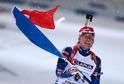 Ondřej Moravec dovezl smíšenou biatlonovou štafetu ke zlatu.