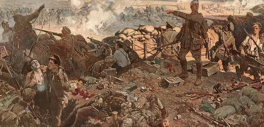 Bitva u Ypru, zásah bojovými plyny.