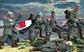 Nemilosrdná I. světová válka.