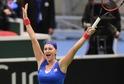 Tenistka Petra Kvitová zvládla úspěšně návrat na kurty a pomohla Česku k postupu do finále Fed Cupu.
