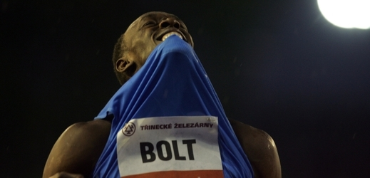 Legendární Usain Bolt.