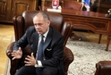 Slovenský prezident Andrej Kiska při rozhovoru pro TÝDEN.