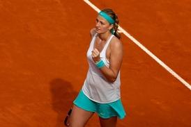 Šťastná Petra Kvitová ovládla turnaj v Madridu.