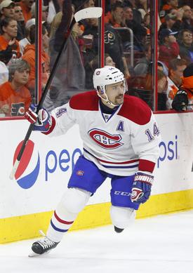 Tomáš Plekanec s Montrealem vypadl v play-off po 2. kole, viníkem byla Tampa.