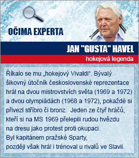 Hokejový expert Jan Havel.