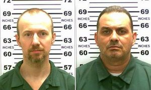 David Sweat (vpravo) Richard Matt.