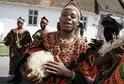 Soubor z Kamerunu, který navštívil minulý ročník Mezinárodního folklorního festivalu ve Strážnici.