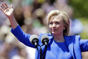 Americká prezidentská kandidátka Hillary Clintonová.