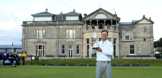 Američan Zach Johnson vyhrál golfový major British Open.