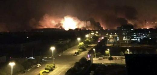 Výbuch ve skladišti vyvolal mohutné tlakové vlny, které se šířily několik kilometrů.