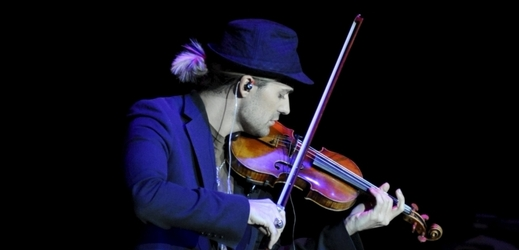 Houslista David Garrett.