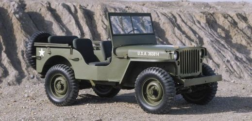 Willys MB z roku 1943.