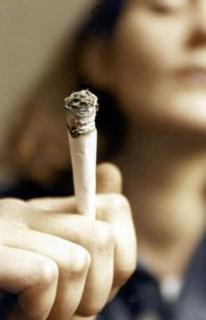 dívky kouření