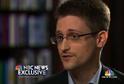 Edward Snowden v rozhovoru pro americkou televizi NBC, kde vysvětlil, proč tajné informace NSA odhalil.