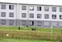 Utečenecký tábor pro migranty ve Vyšních Lhotách na Frýdecko-Místecku.