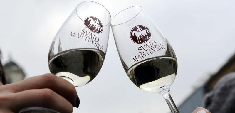 Výsledek obrázku pro historie svatomartinské víno