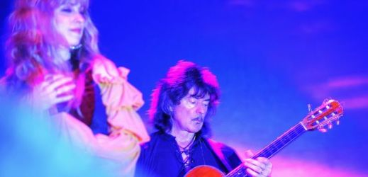 Candice Nightová a Ritchie Blackmore.