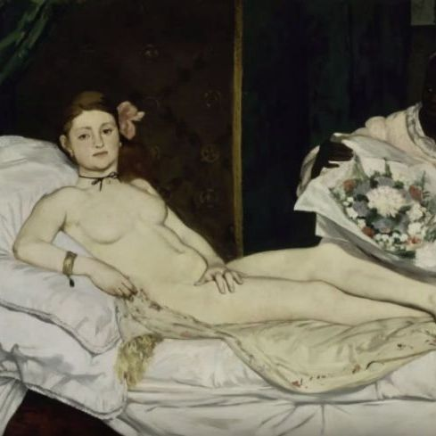 edouard manet olympia essay The paper discusses edouard manets influence on the history of painting the paper analyses olympia and other works of manet to explain how the artists works show the spirit of time and culture in which they were created.