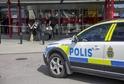 Švédské policejní auto (ilustrační foto).