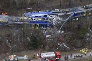 Srážku vlaků v Bavorsku zavinil člověk. Zemřelo 10 lidí
