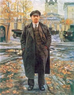 Lenin. V únoru 1916 pobýval ve Švýcarsku.
