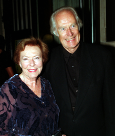 Producent skupiny The Beatles George Martin s manželkou Judy Martinovou.