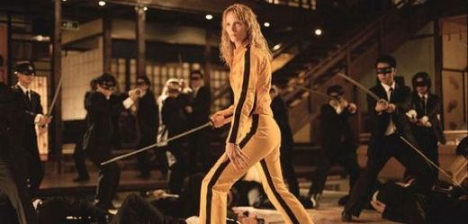 Uma Thurman ve filmu Kill Bill má na nohou model Onitsuka Tiger Tai Chi LE.