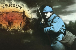U Verdunu se stále odehrávalo peklo.