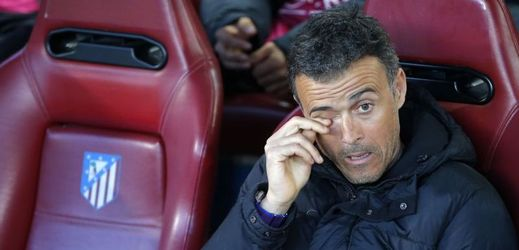 Luis Enrique, trenér Barcelony.