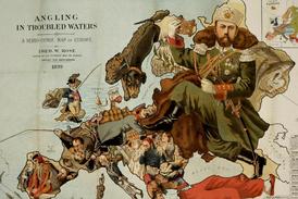 Plány ruského cara na ovládnutí Evropy.