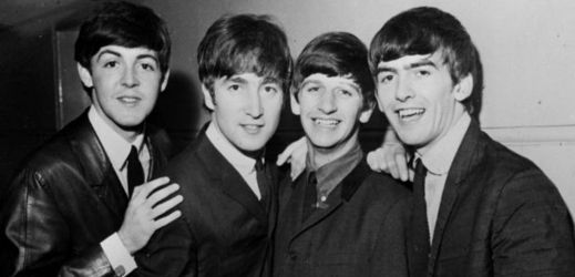 Zleva Paul McCartney, John Lennon, Ringo Starr, George Harrison.