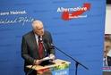 Václav Kalus hovoří na akci AfD v březnu 2016.