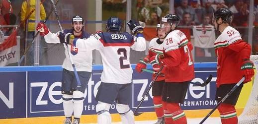 Slováci v prvním utkání turnaje porazili Maďarsko.