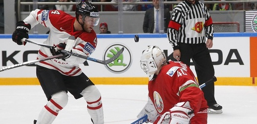 Hokejisté Kanady opět prodloužili svoji vítěznou šňůru na mistrovství světa (ilustrační foto).