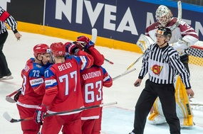 Rusové přejeli Lotyše 4:0 (ilustrační foto).