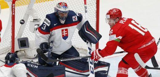 Slovensko ztratilo dobře rozehraný zápas s Běloruskem