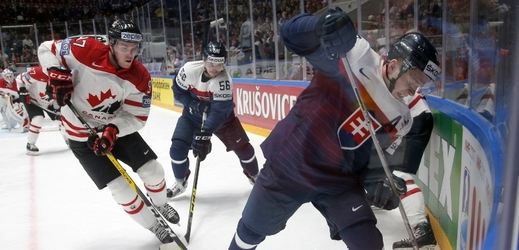 Kanada deklasovala Slovensko 5:0.