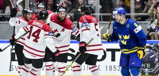 Kanaďané roznesli Švédsko a jdou do semifinále