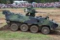V rámci otevíracího prohramu se v lešanské aréně předvede i obrněný transportér Pandur.