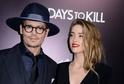 Patnáct měsíců po svatbě se chce nechat Amber Heard rozvést s Johnnym Deppem.