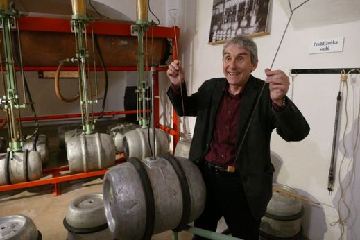 Muzeum v pivovaru vzniklo především díky bývalému sládkovi Miroslavu Koutkovi.