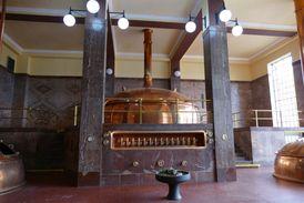 Zachovalá varna slouží nejen k vaření piva, ale pořádají se zde i svatby či koncerty.