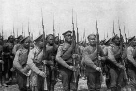 Ruská pěchota.